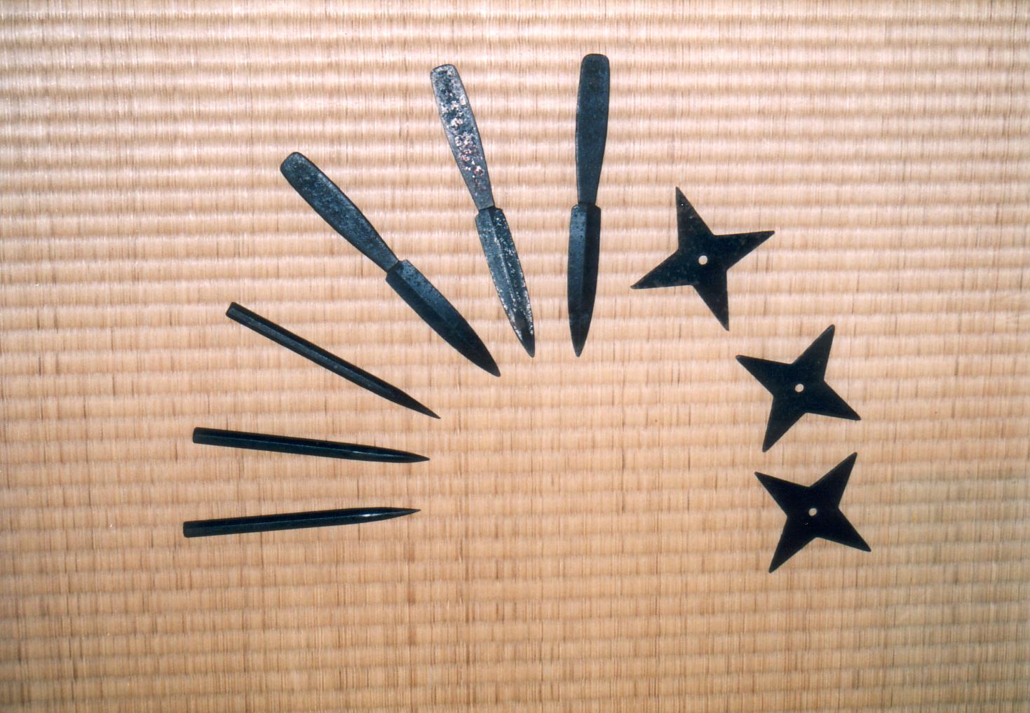 Ninjutsu weapons names