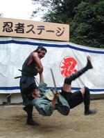 Ninja Experience Plaza Ninja Show photo